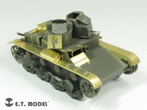 Soviet T-26 Light Tank Mod.1931  (Vista 4)