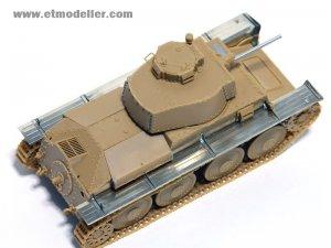 German Pz.Kpfw.38(t) Ausf.B/E/F/G Fender  (Vista 3)