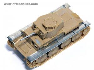 German Pz.Kpfw.38(t) Ausf.B/E/F/G Fender  (Vista 4)