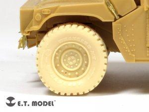 US ARMY HUMVEE Weighted Road Wheels  (Vista 2)