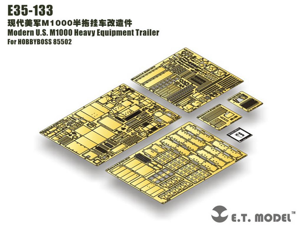 U.S. M1000 Heavy Equipment Trailer (Vista 2)