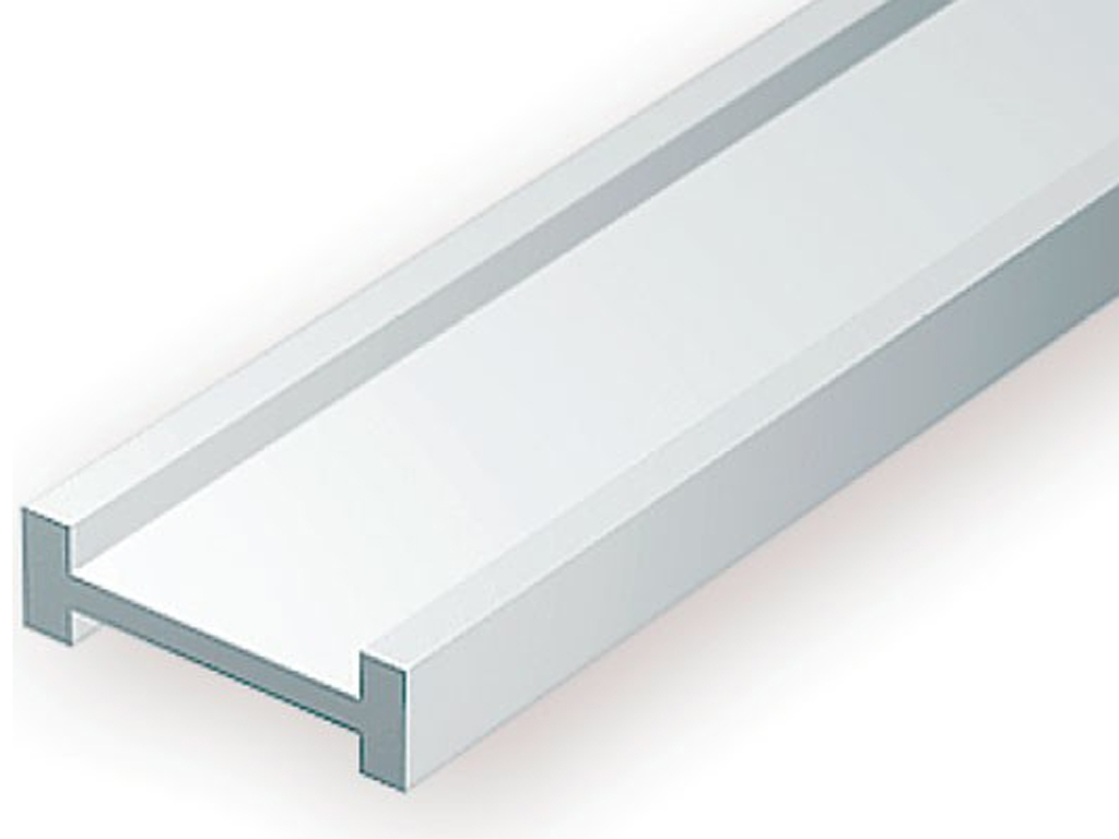 Perfil I 7,9 x 2,4 mm 2 Unidades 35 cm  (Vista 1)