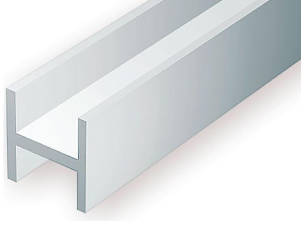 Perfil H 6,3 x 6,0 mm 2 Unidades 35 cm  (Vista 1)