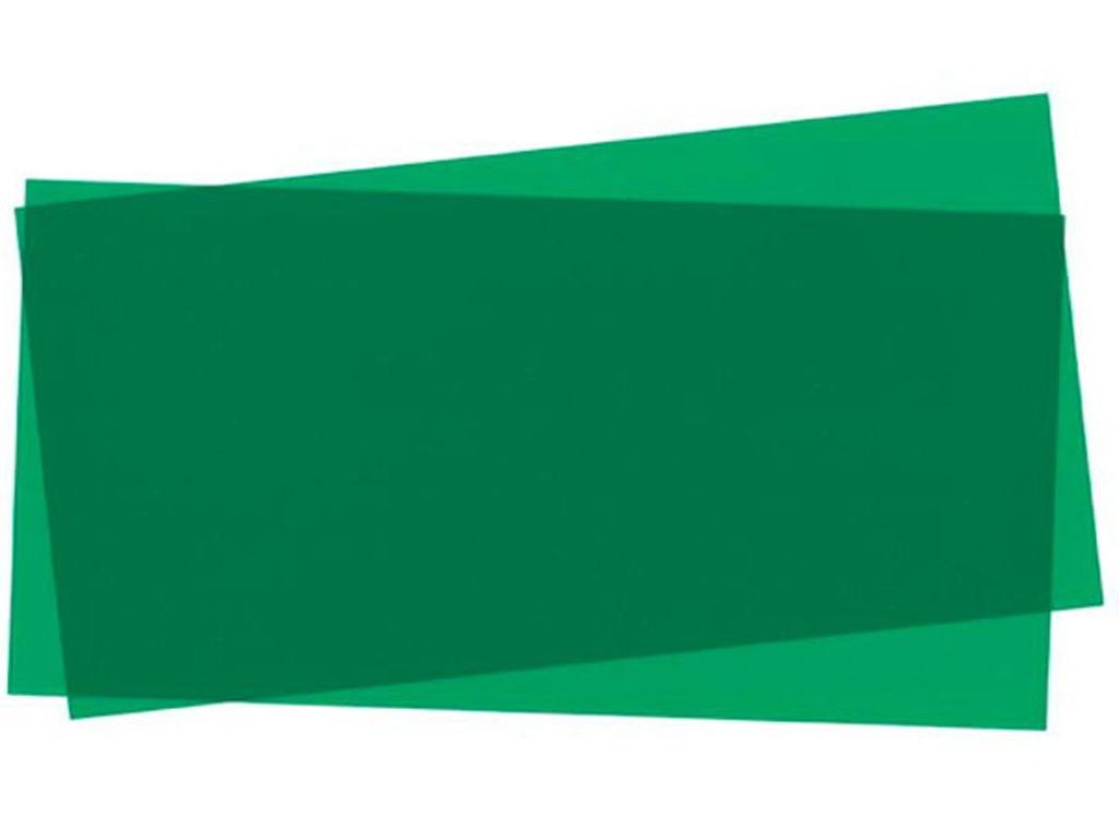 Hojas color Verde 15x30x0.25cm  (Vista 1)