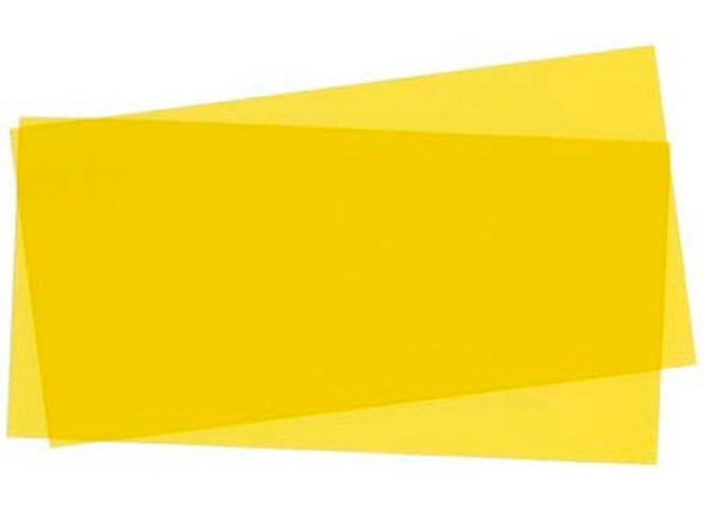 Hojas Amarillo 15x30x0.25cm  (Vista 1)