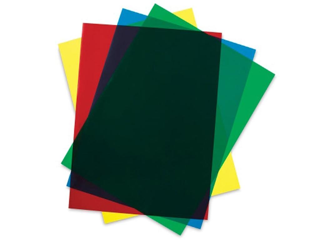 Set Hojas Colores15x30x0.25cm  (Vista 1)