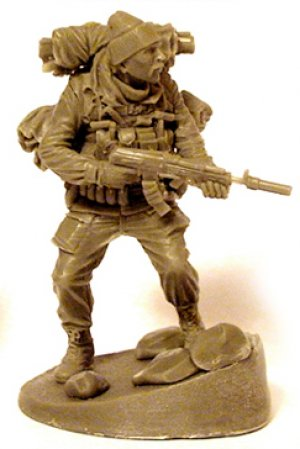 Oficial Sovietico, Afghanistan 1984-89  (Vista 3)