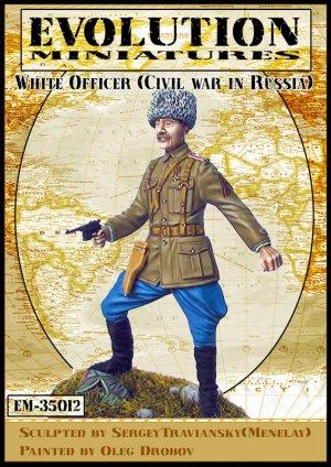 Oficial Ruso Blanco  (Vista 1)