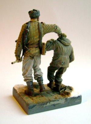Sovietico regañando a crio  (Vista 2)