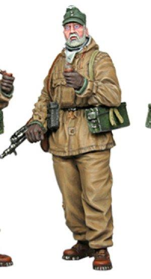 Soldado Aleman 1944  (Vista 2)