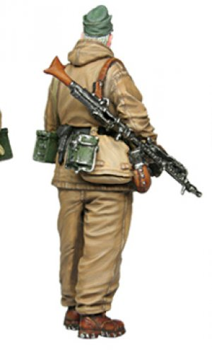 Soldado Aleman 1944  (Vista 3)