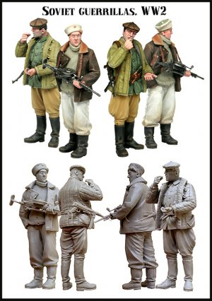The Soviet guerrillas WW2  (Vista 2)