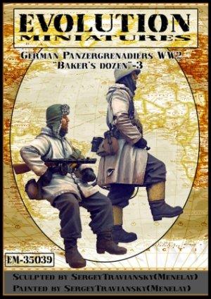 German Panzergrenadiers WWII   (Vista 1)