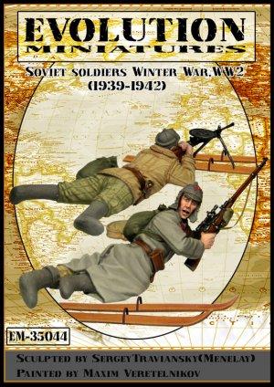 Soviet soldiers WW2   (Vista 1)