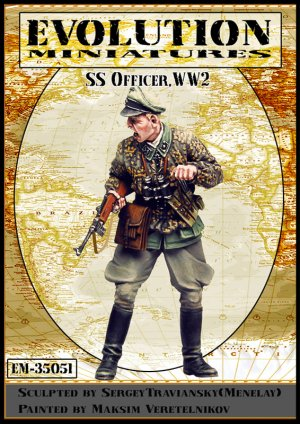 SS Officer, WWII   (Vista 1)