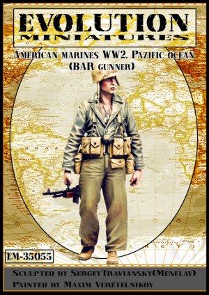 American Marines WW2 Pacific Ocean  (Vista 1)