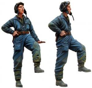 Soviet tankmen. WW2   (Vista 4)
