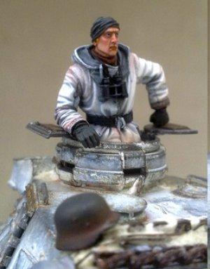 Comandante tanque Aleman  (Vista 2)