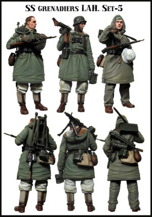SS Grenadiers LAH. Set-5  (Vista 2)