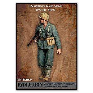 U.S. Marines WW2. Set-6  (Vista 1)