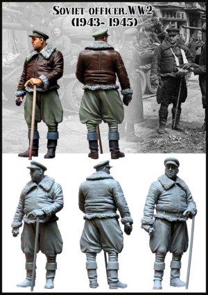 Oficial Sovietico  (Vista 2)