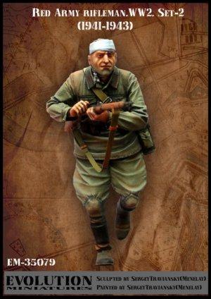Red Army Rifleman WWW2 set-2  (Vista 1)