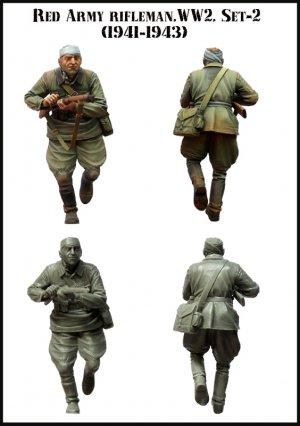 Red Army Rifleman WWW2 set-2  (Vista 2)