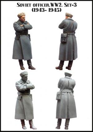 Soviet officer. WW2. Set-3 (1943-1945)  (Vista 2)