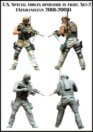 U.S. Special forces operator in fight.  (Vista 2)