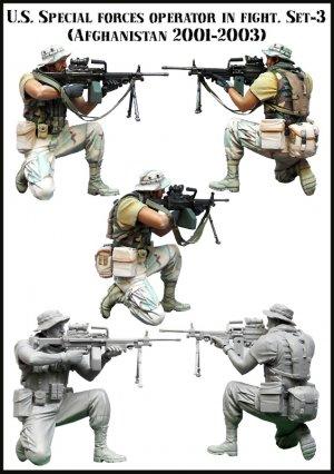U.S. Special forces operator in fight  (Vista 2)