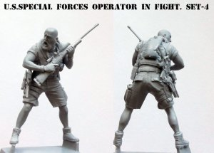 U.S. Special forces operator in fight, S  (Vista 2)