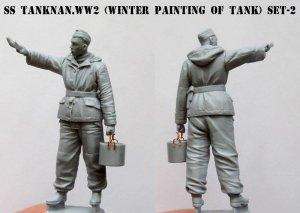 SS Tankman. WW2  (Vista 3)