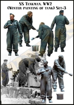 SS Tankman. WW2  (Vista 2)