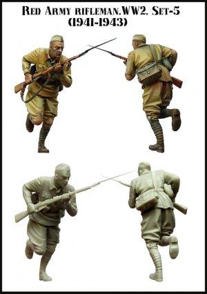 Soldado Sovietico Cargando  (Vista 2)