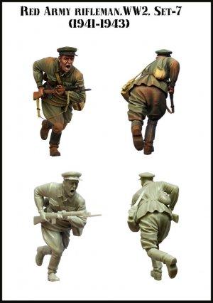 Soldado Sovietico Cargando 1941-43  (Vista 2)
