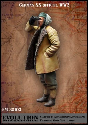 Oficial Aleman SS   (Vista 1)