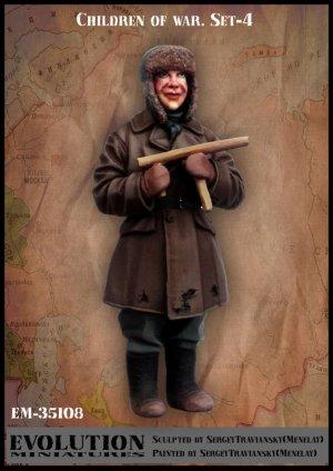 Niños en la Guerra Set-4  (Vista 1)