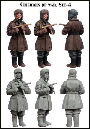 Niños en la Guerra Set-4  (Vista 2)