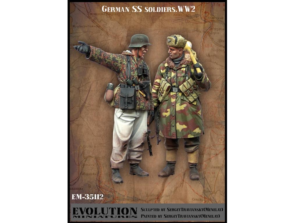 Soldados SS Alemanes   (Vista 1)