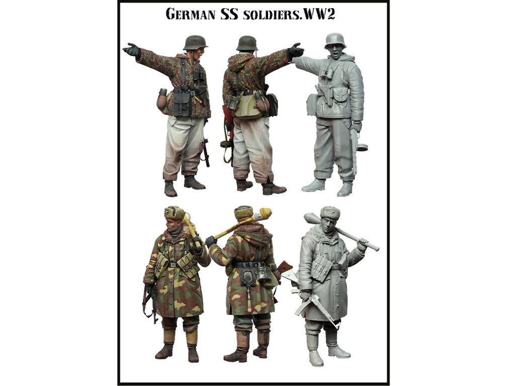 Soldados SS Alemanes   (Vista 2)
