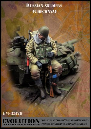 Soldado Ruso Chechnya  (Vista 1)