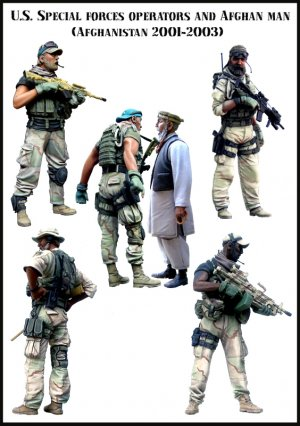 Big Set 1 - U.S. Special forces operator  (Vista 1)