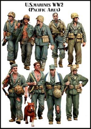 U.S. Marines WW2 (Pacific Area) BigSet-2  (Vista 2)