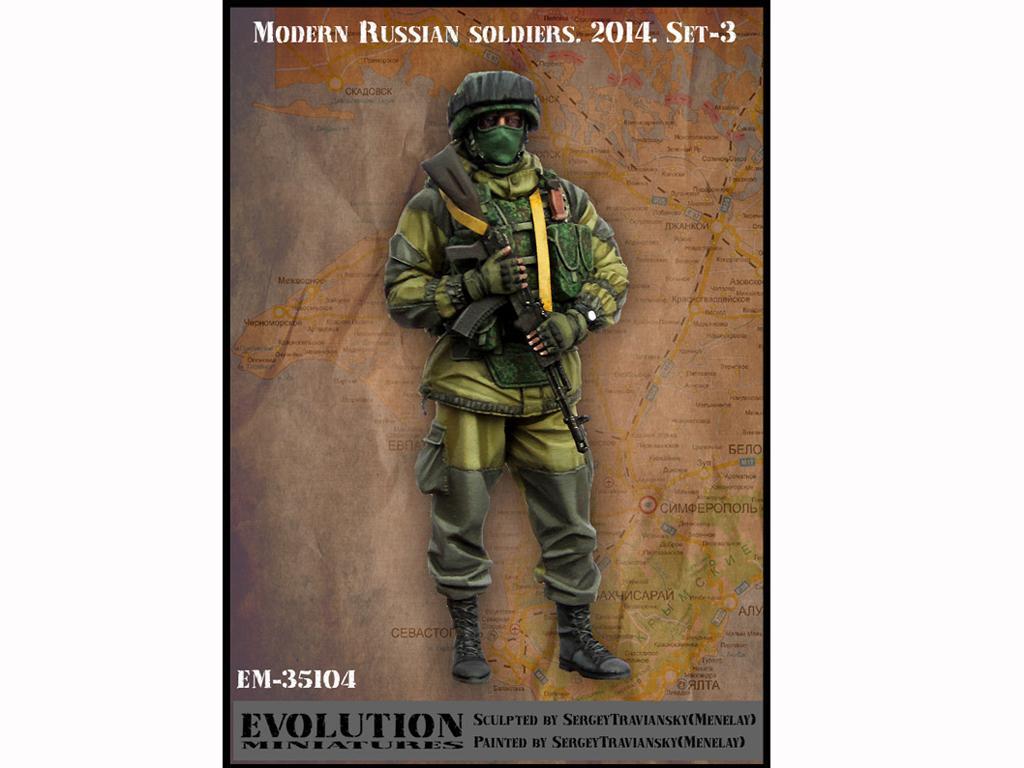 Soldado Ruso Moderno 2014 (Vista 1)