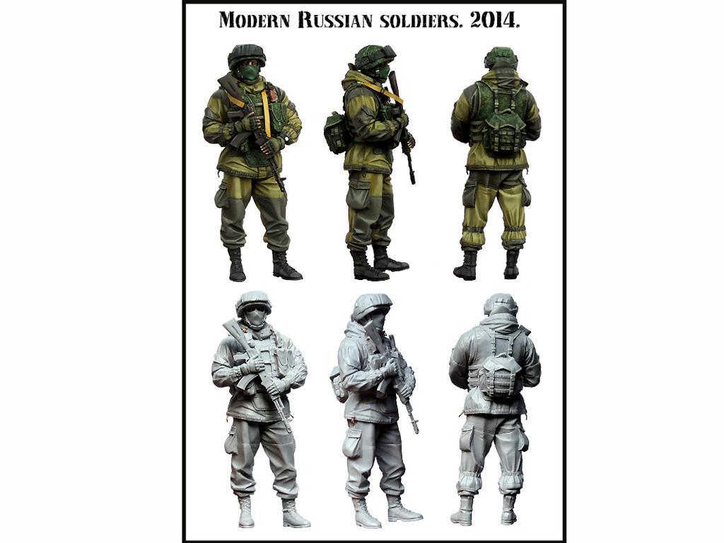 Soldado Ruso Moderno 2014 (Vista 2)