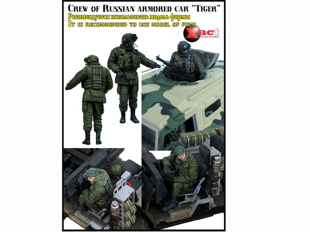 Dotacion GAZ-233014 Tiger (Vista 3)