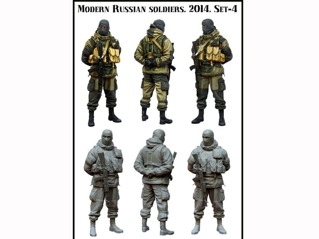 Soldado Ruso Moderno set 4 (Vista 2)