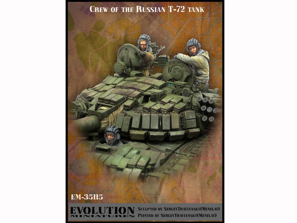 Tanquistas Rusos  Tanque T-72 (Vista 1)
