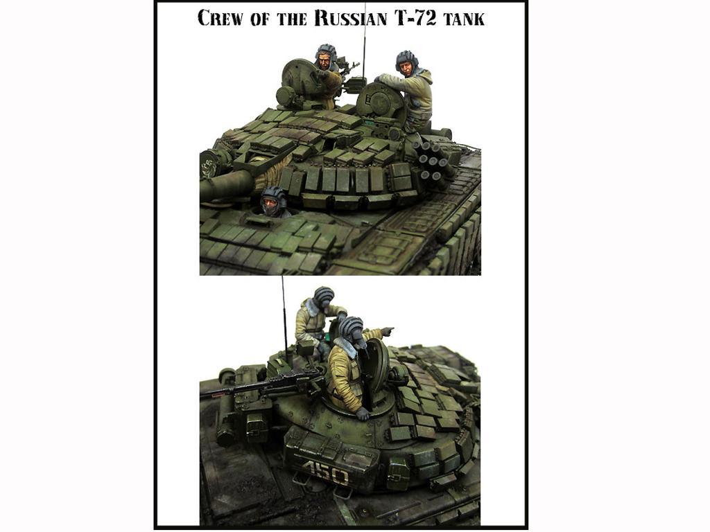 Tanquistas Rusos  Tanque T-72 (Vista 2)