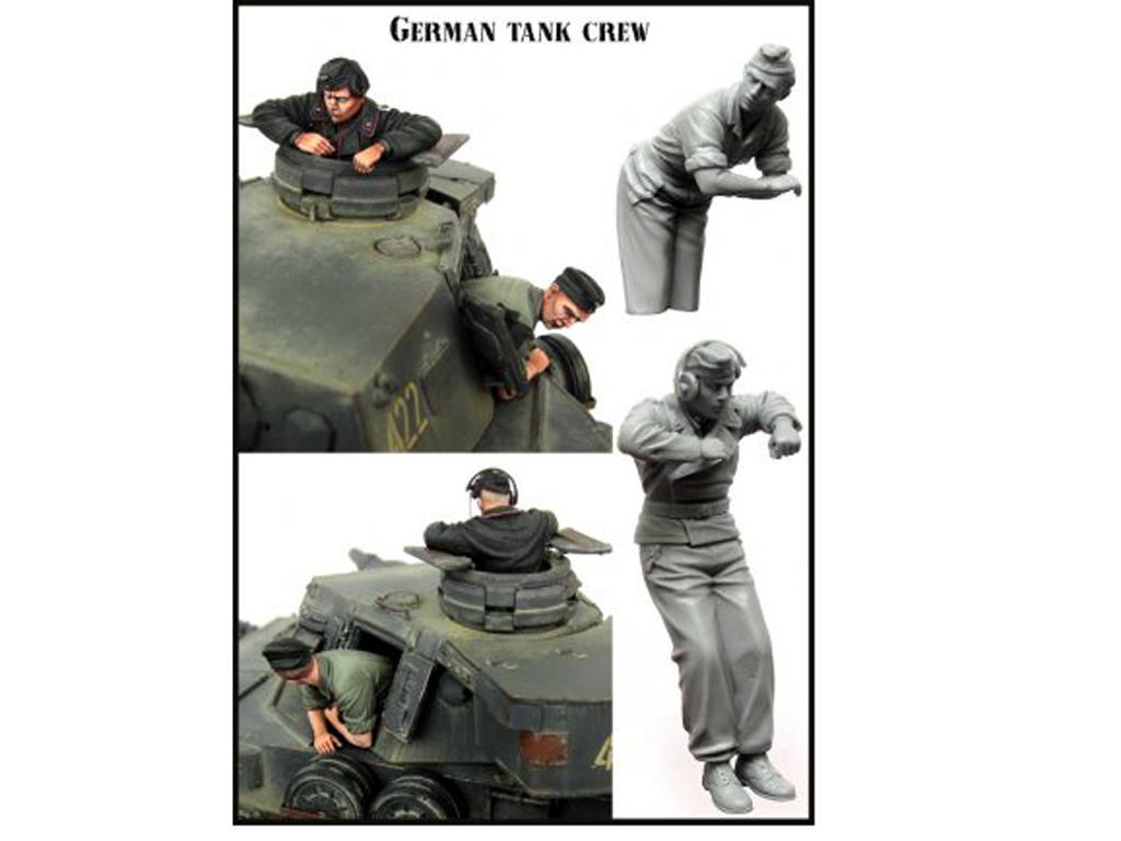Tanquistas Alemanes (Vista 2)
